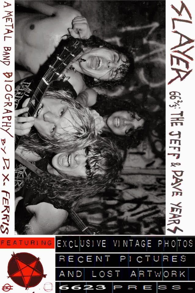 "Buku baru Biografy SLAYER "" Slayer 66 2/3: The Jeff & Dave Years. A Metal Band Biography "" Kini dijual Ekslusif di AMAZON"
