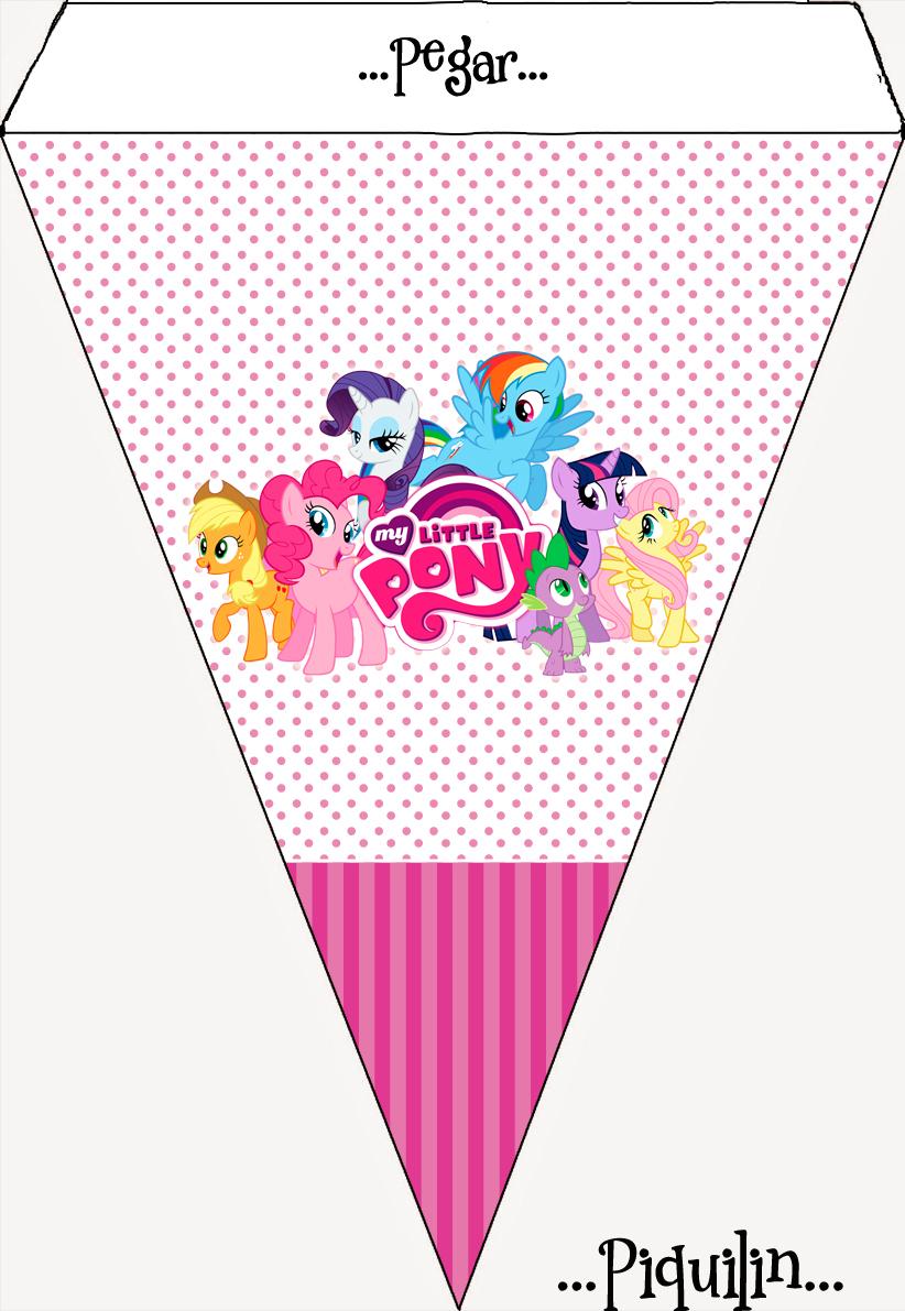 Kits Imprimibles Piquilin Kit Imprimible My Little Pony