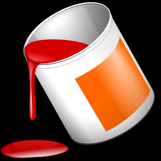 Bote de pintura | Libre Clipart SVG