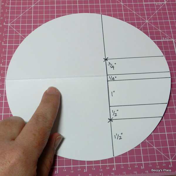 beccy s place tutorial circle side step card