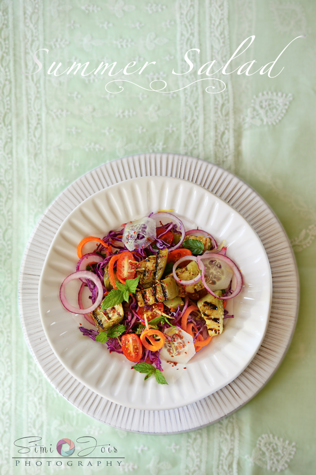 #SimiJoisPhotography, #GrilledTomatoSalad, #Recipe