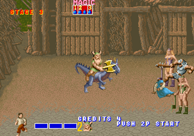 Golden Axe do Arcade