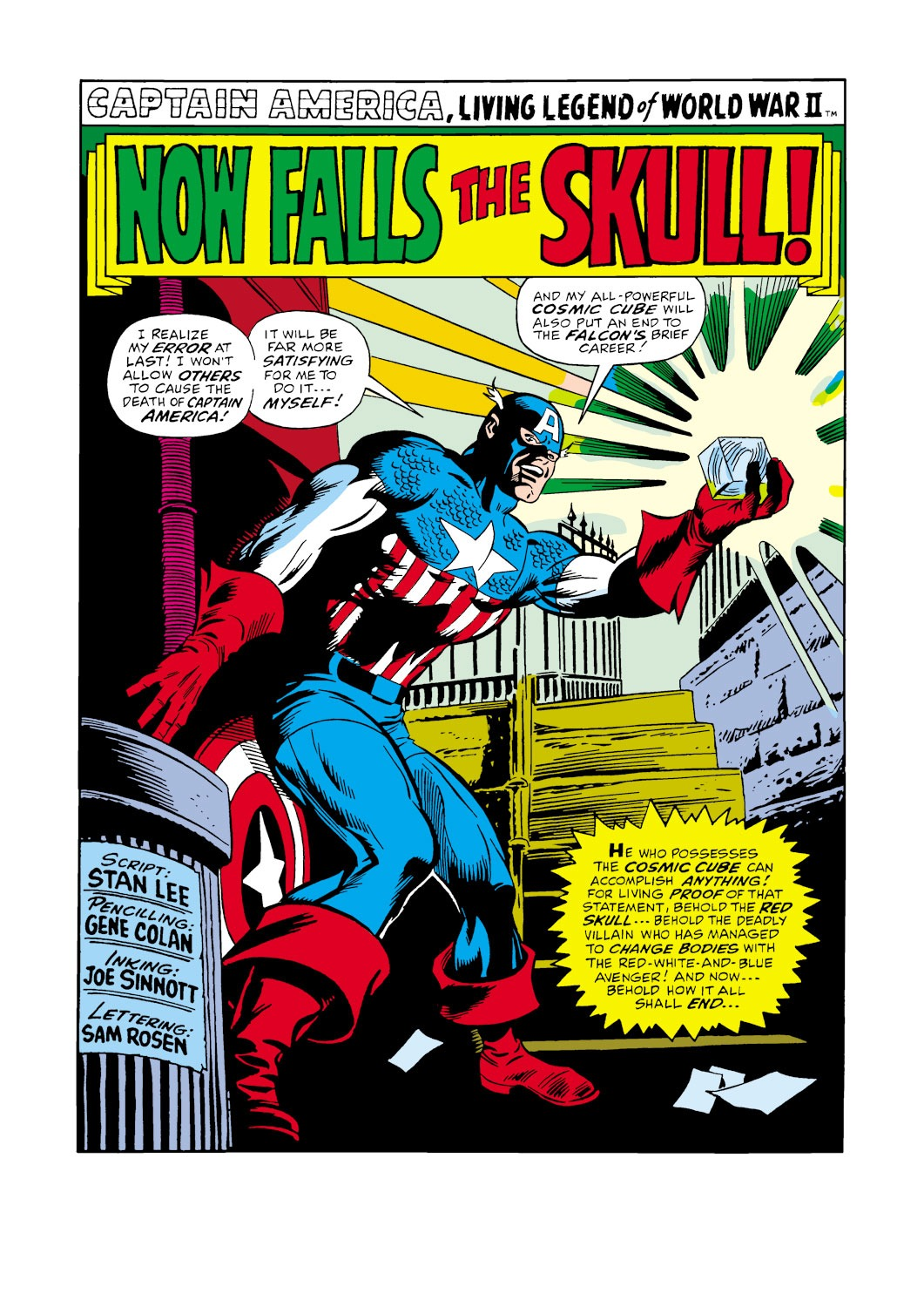 Captain America (1968) Issue #119 #33 - English 2