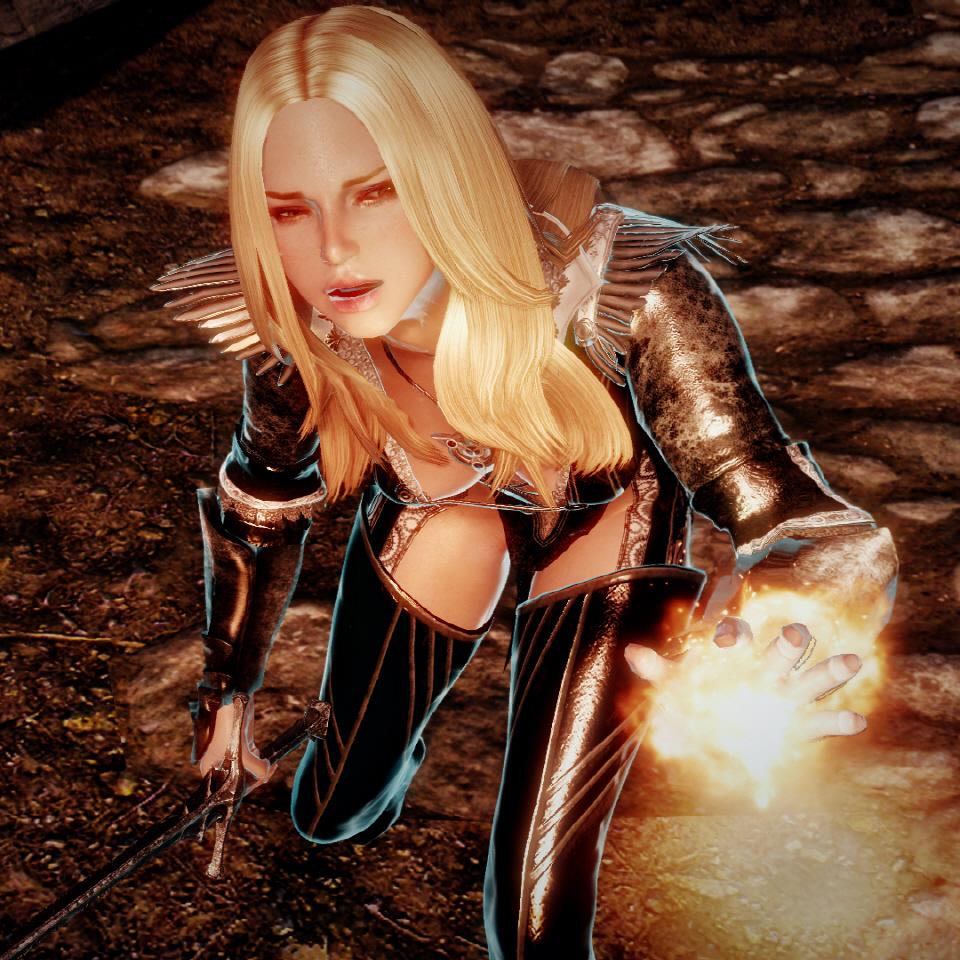 Hot Skyrim Girl Mods