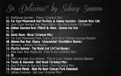 2012.09.14 - SO, DELICIOUS? BY SIDNEY SAMSON So,+Delicious+by+Sidney+Samson