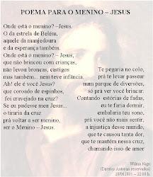 Poema para o Menino Jesus