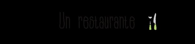 Un-restaurante