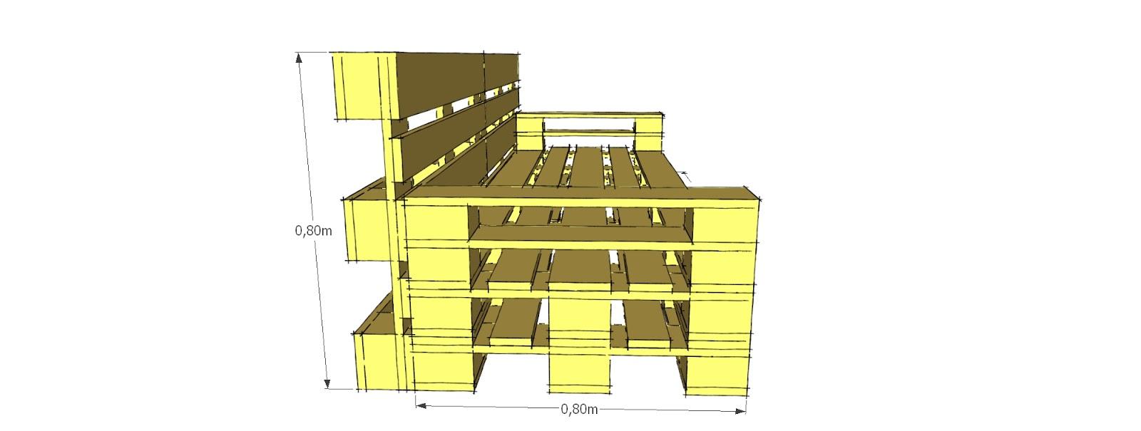 Progettare con i pallet: Come costruire un divano con i ...