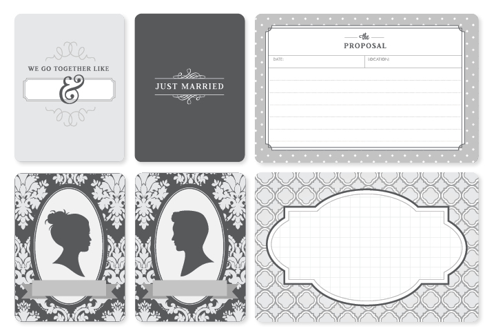 Kimberly Church || Project Life Wedding Mini Kit