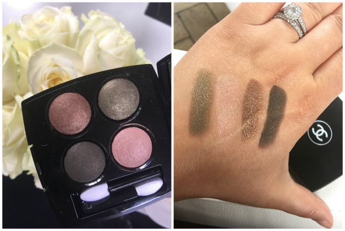 Les 4 Ombres in Tissé d'Automne Eyeshadow Swatches
