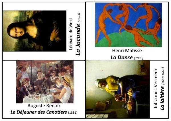 Cole r f rences bons points imprimer et grandes images - Histoire des arts la chambre des officiers ...