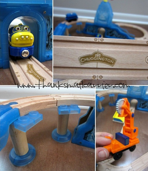 Chuggington wooden railway set