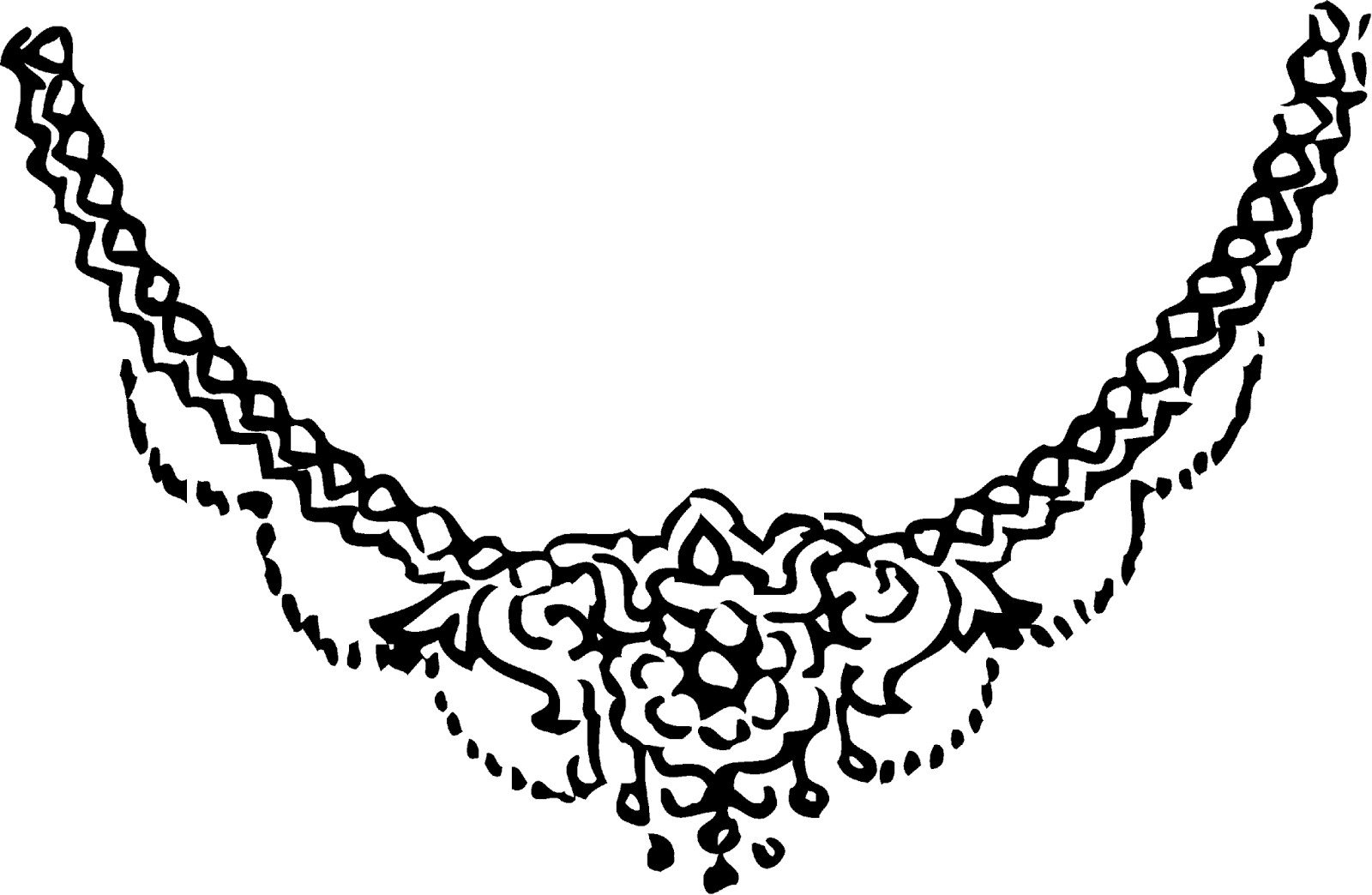 Line Art Earrings : Jewellery clipart