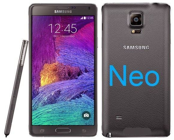 Samsung has started working on the Galaxy Note 4 Neo