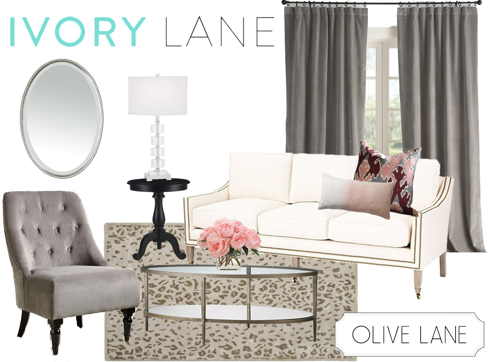 Clairemont Coffee Table Olive Lane Fashion Friday Ivory Lane