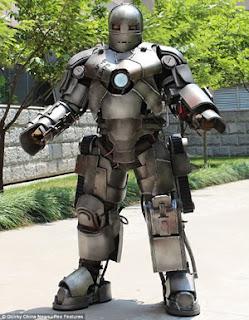 armadura do homem de ferro,mega interessante,trabalho,curiosidade