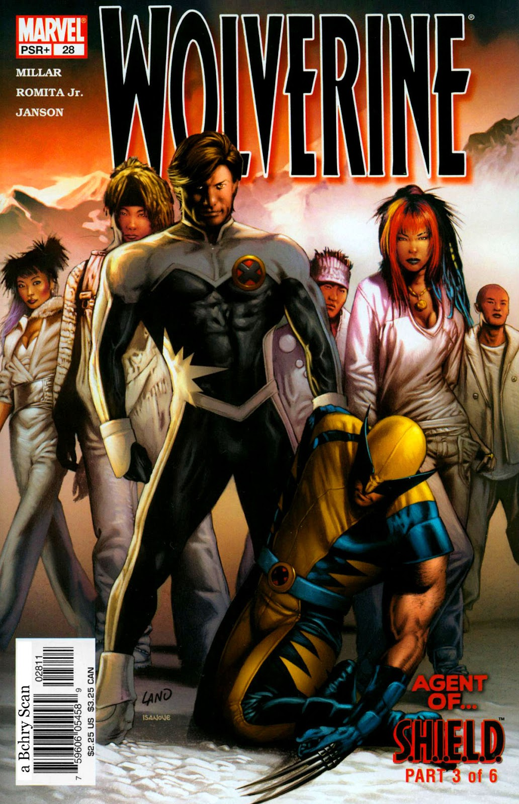Read online Wolverine (2003) comic -  Issue #28 - 1