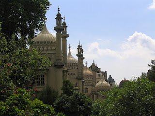Skyline of the Brighton Pavilion