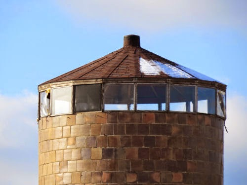silo top with windows