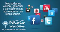A NGG WebSites pode colocar sua empresa em evidência nas Redes Sociais. Invista nas redes sociais! Planos de Gestão com desconto esse mês. Venha aproveitar o Super Desconto para novos clientes desse mês.