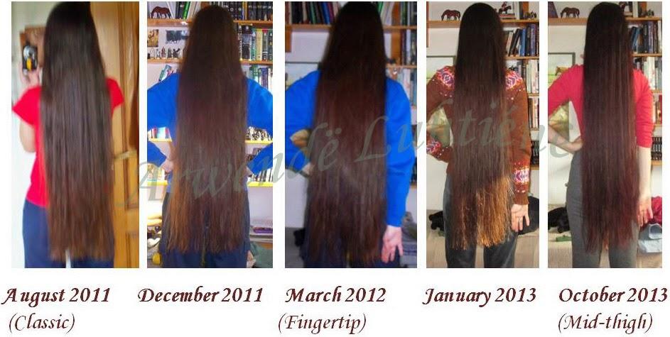 Knee Length Hair