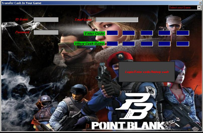 CHEAT POINT BLANK Hack Cash INDO, RUSIA, THAILAND