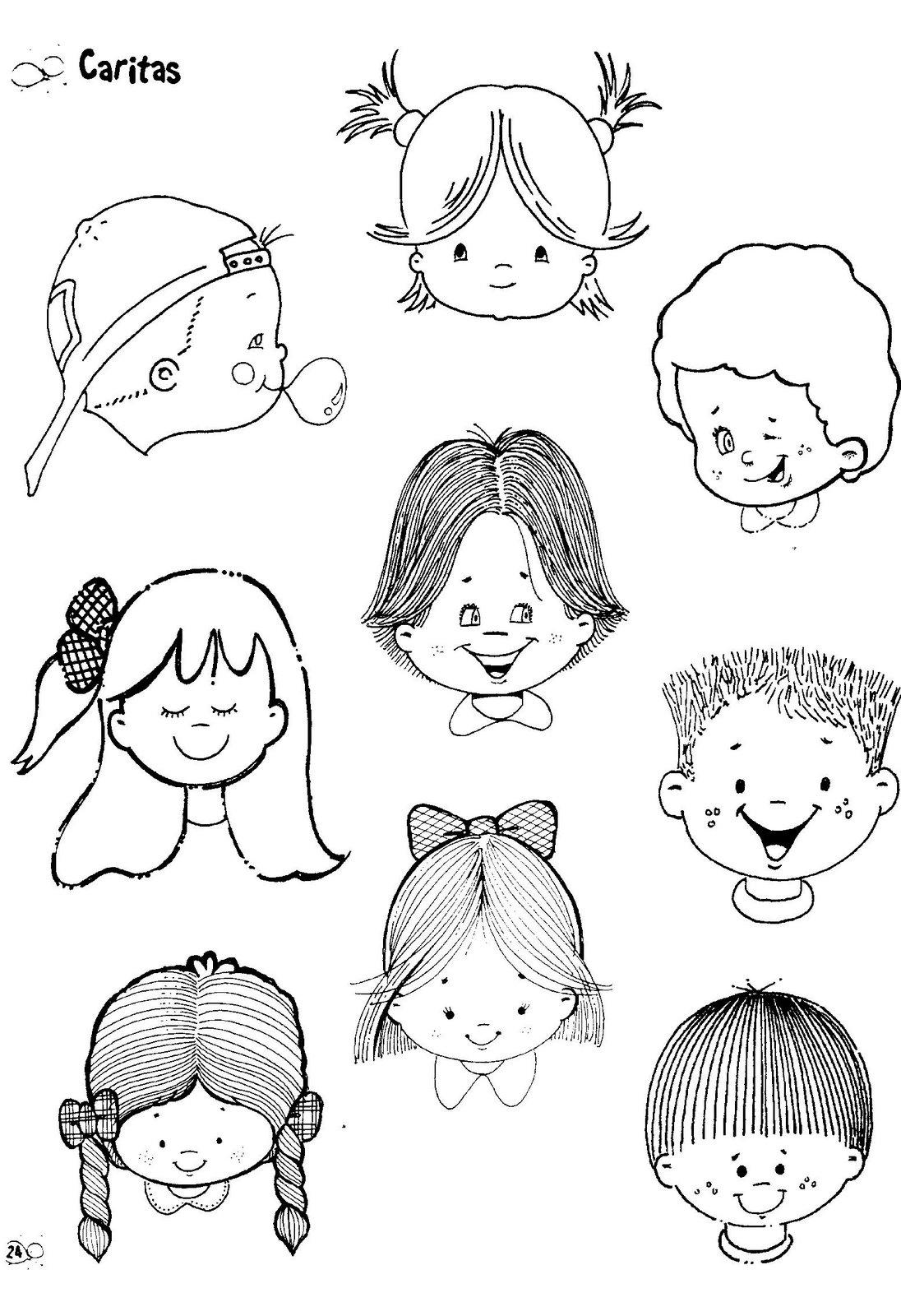 fichas infantiles colorear: