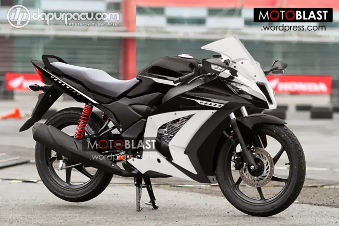 Gambar Modifikasi Honda Verza 150 Full Fairing Sport title=