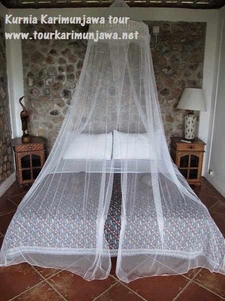 tempat tidur di jiwa quest karimun jawa