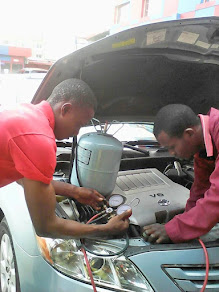 GET YOUR VEHICLE'S AIR CONDITIONER SERVICED @ MEECHEAL EXCELS AUTO CARE CENTRE