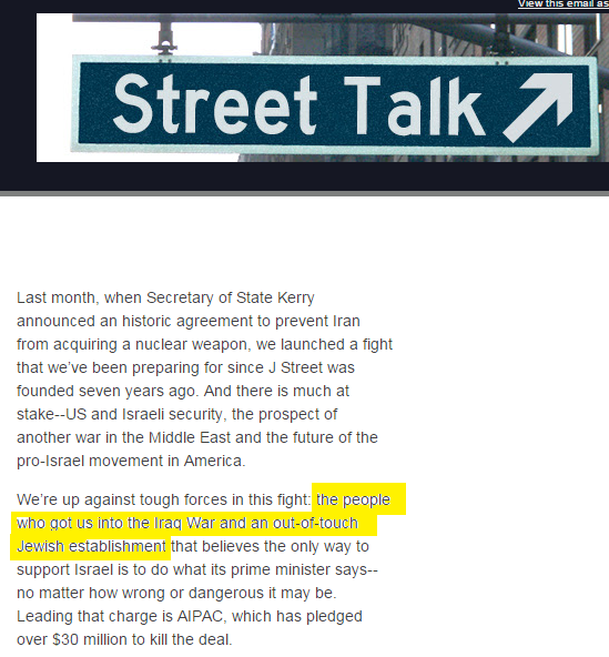 After Summer Of Name Calling J Street Claims That It Never Called