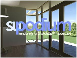 su podium for sketchUp