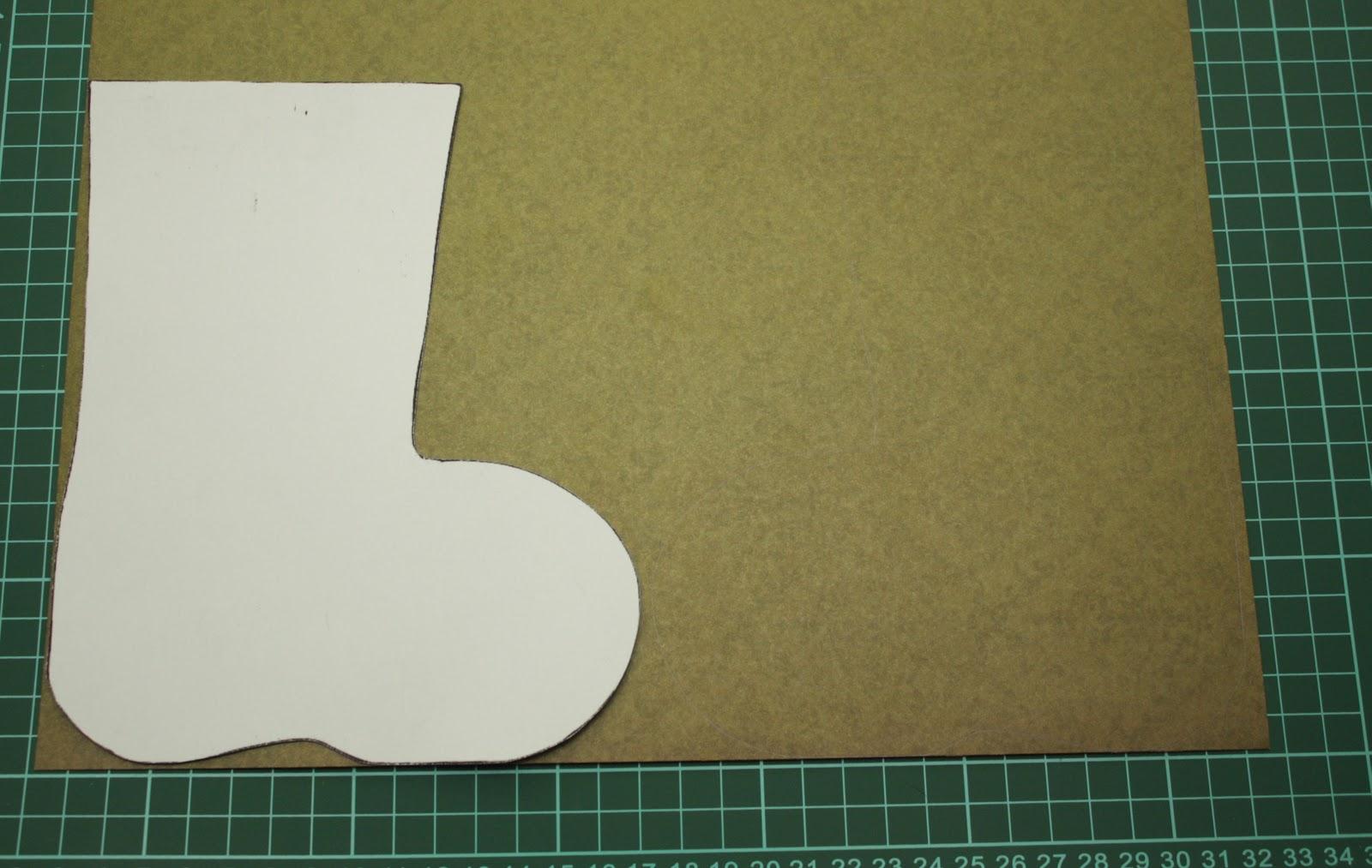 Как сделать валенок из бумаги