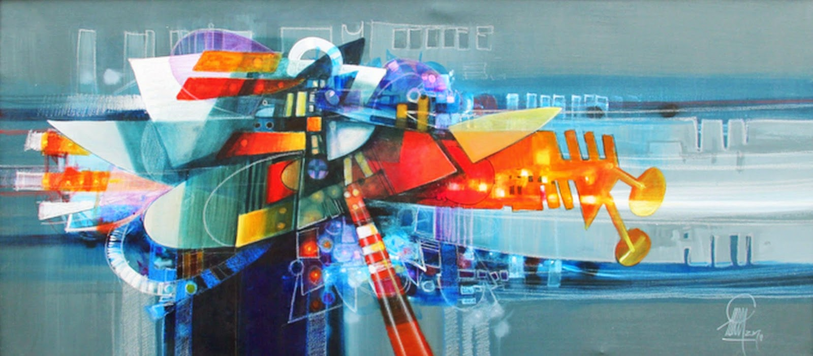 Cuadros pinturas oleos cuadros modernos pintados al leo for Pinturas para salas modernas