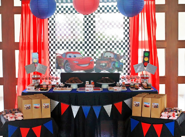 Disney Cars Lightning McQueen and Mater Birthday Party