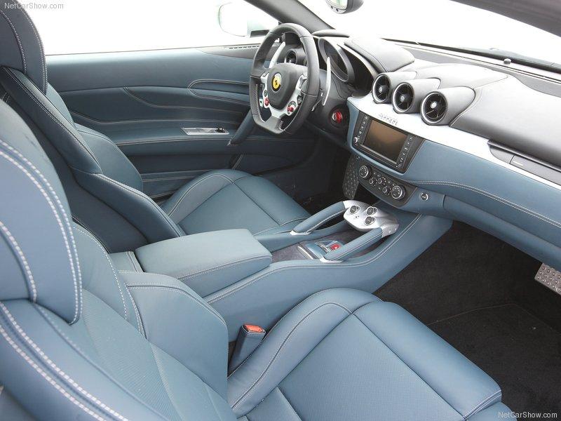 Nicemotorcar 2012 Ferrari Ff Silver Interior And Engine Pics