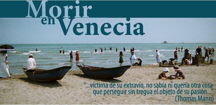 Morir en Venecia