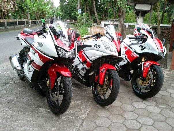 Modifikasi Yamaha Vixion Ala M1 09 Club title=
