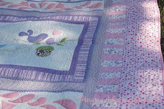 """Baby quilt """"розовое утро"""""""