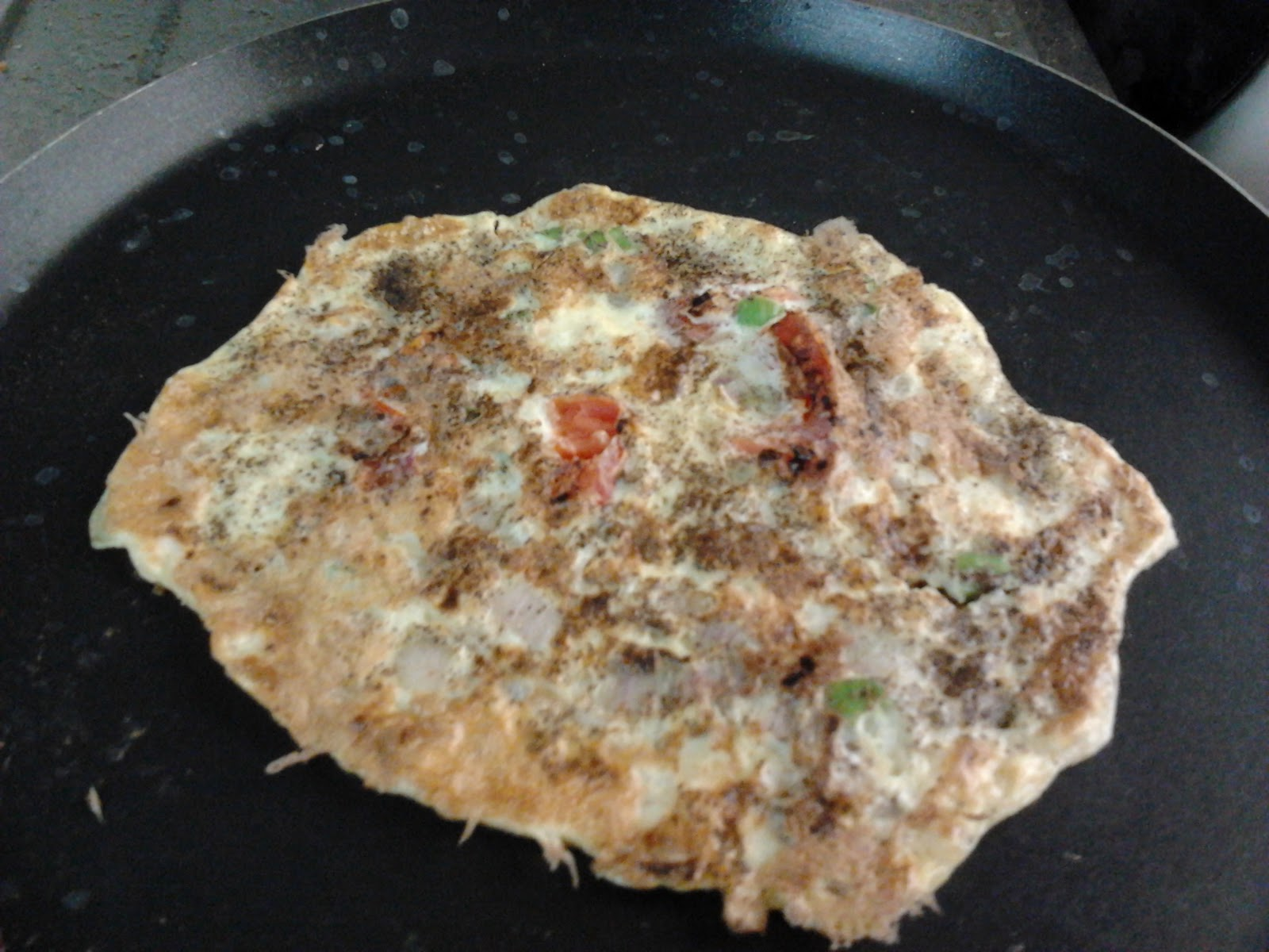 Indian Omelette Recipe(Egg Omelette) ~ Easyfud