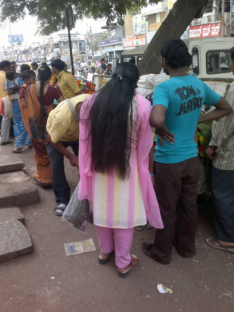 Chennai long hair girl