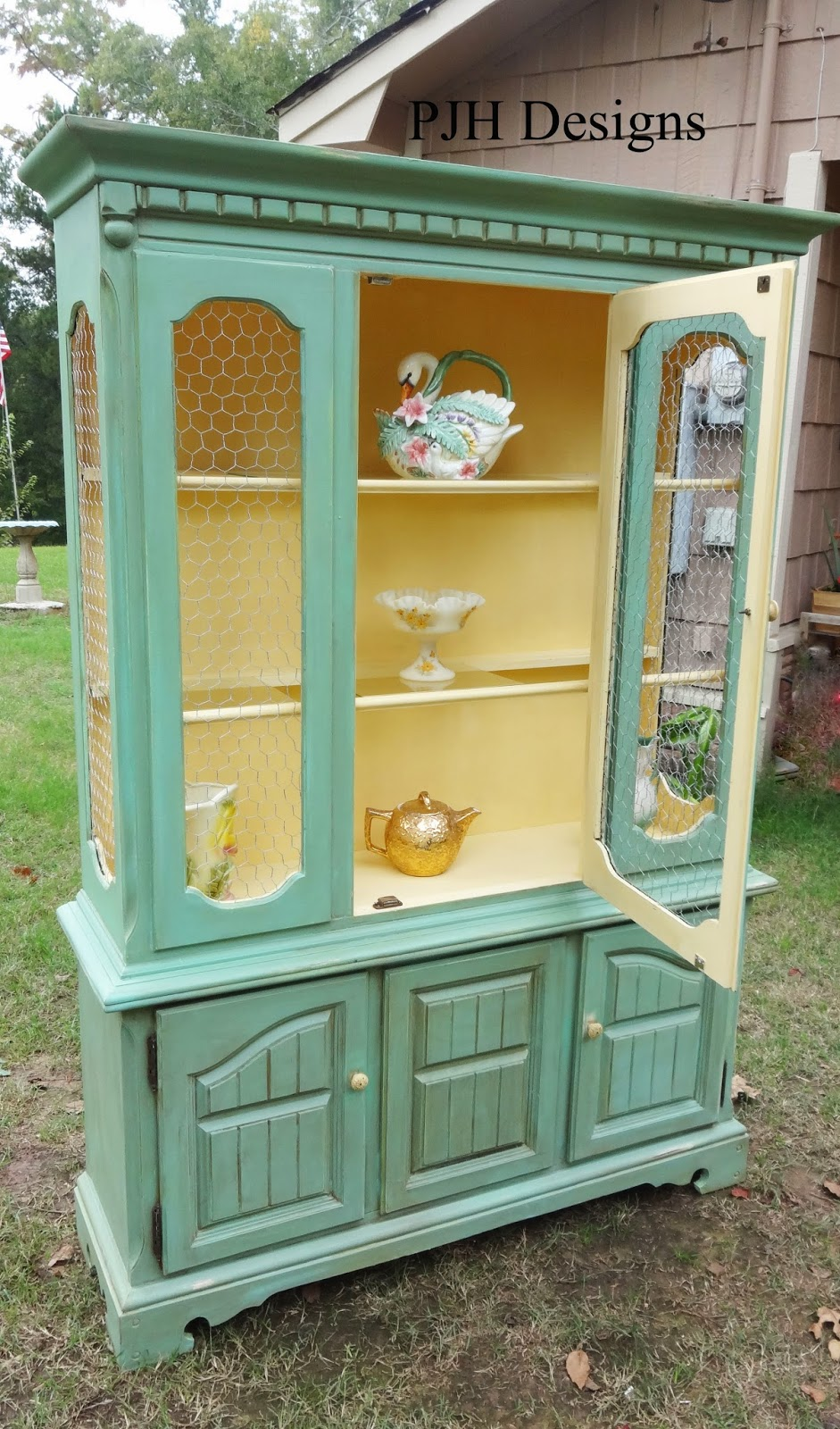 PJH Designs Hand Painted Antique Furniture December 2013