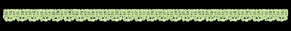 レースのラインのイラスト「緑」