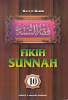 toko buku rahma: buku fiqih sunnah 10, pengarang sayyid sabiq, penerbit pt. alma'arif bandung