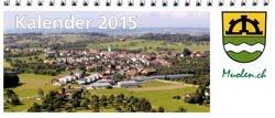 Gemeinde Fotokalender 2015: