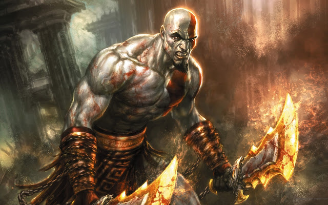 god of war sony action game