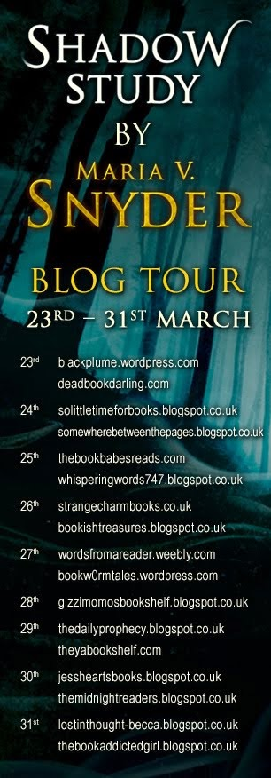 Shadow Study Blog Tour!