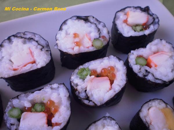Palitos de cangrejo cocinar en casa es - Cocinar sushi facil ...