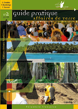 Guide pratique affaires de terre - Editions Univers Polynésiens - Collection pour comprendre