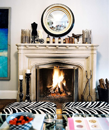 Belle Maison Accessories 101 Decorating The Fireplace Mantel